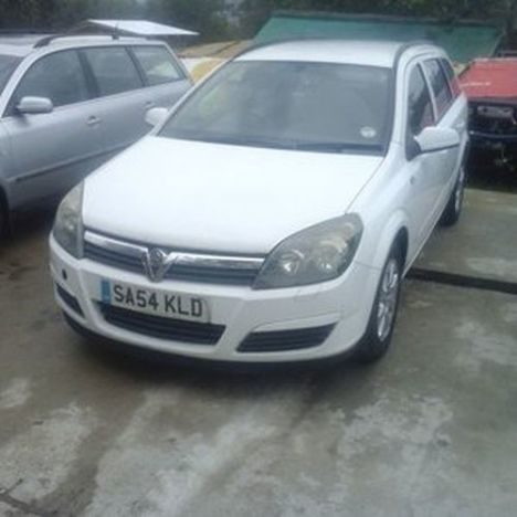 Opel Astra H break, 2005, alb